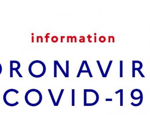 Mise à jour – Infos Covid 19