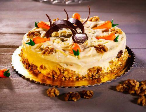 Recette : Carrot cake d'halloween