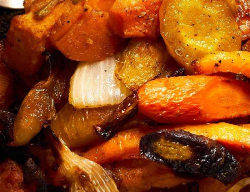 Recette : Gratin patates douces et pommes de terre